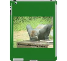 Communal Drinking Water iPad Case/Skin