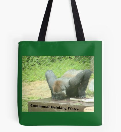 Communal Drinking Water Tote Bag