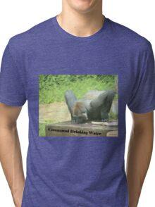 Communal Drinking Water Tri-blend T-Shirt