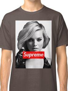 Margot Robbie Supreme B&W  Classic T-Shirt