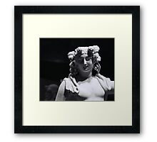Statue of Dionysus Framed Print