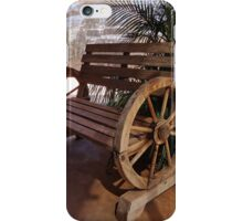 Rest your weary bones here... iPhone Case/Skin
