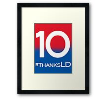 Thanks Landon Donovan Framed Print