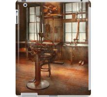 Machinist - A lone grinder  iPad Case/Skin