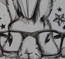 Anti Rabbit Abuse Design Sticker