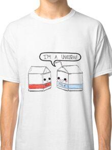 Milk Carton Unicorns Classic T-Shirt