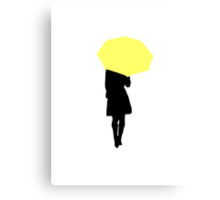 Yellow Umbrella - HIMYM Canvas Print