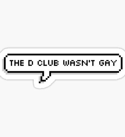 i swear Sticker