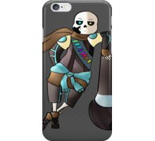 """Ink Sans """"Why are you here?"""" iPhone Case/Skin"""
