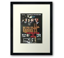 Japanese Once Upon A Time In America Framed Print