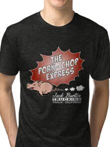 Jack Burton Trucking express Chop Tri-blend T-Shirt