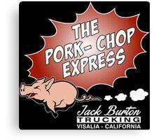 Jack Burton Trucking express Chop Canvas Print