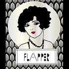1920s FLAPPER GIRL by CecelyBloom