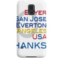 205 Goals And Counting Samsung Galaxy Case/Skin