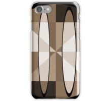 Abstract in Sepia iPhone Case/Skin