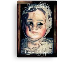Jen Victrola's Curio Shoppe Goodies Canvas Print