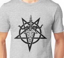 Atheistic Satanism (black) Unisex T-Shirt