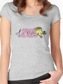 Beauty School Dropout Women's Fitted Scoop T-Shirt