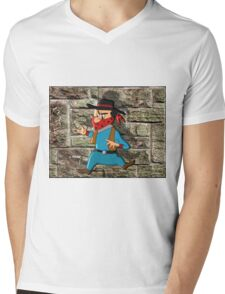 Whoa! Mens V-Neck T-Shirt