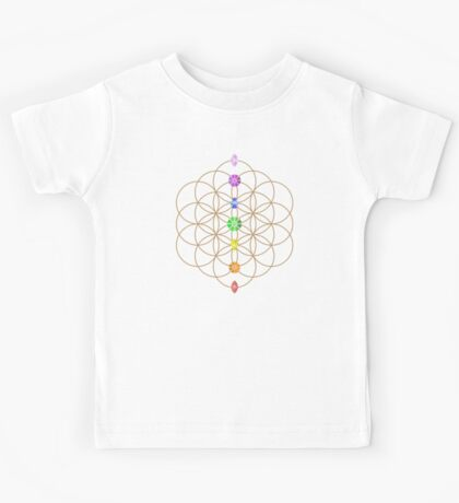 Flower Of Life - Metaphysical Kids Tee