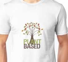 Plant Based Fall Tree Unisex T-Shirt