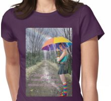 Rainbows Womens Fitted T-Shirt