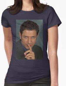 Jeff Goldblum Womens Fitted T-Shirt