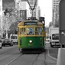 Melbourne Tram by Sharon Brown