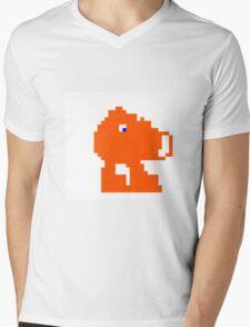 Q-Bert Mens V-Neck T-Shirt
