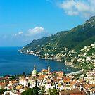 .. view on Vietri / Salerno / Italy by Rachel Veser