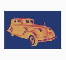 Colorful Packard Luxury Car Pop Art Kids Clothes