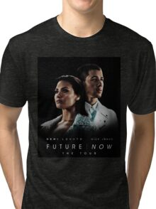 DEMI LOVATO FT NICK JONAS FUTURE NOW Tri-blend T-Shirt