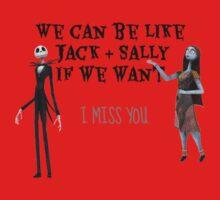 BLINK 182 I MISS YOU - Jack & Sally Kids Tee
