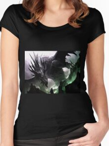 DRAGON Women's Fitted Scoop T-Shirt