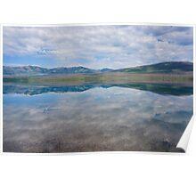 Mirror, Lake McDonald, Montana Poster