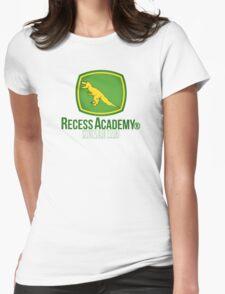 Recess Academy ® Dinosaur Club Womens Fitted T-Shirt