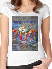 Your are Worth It Women's Fitted Scoop T-Shirt