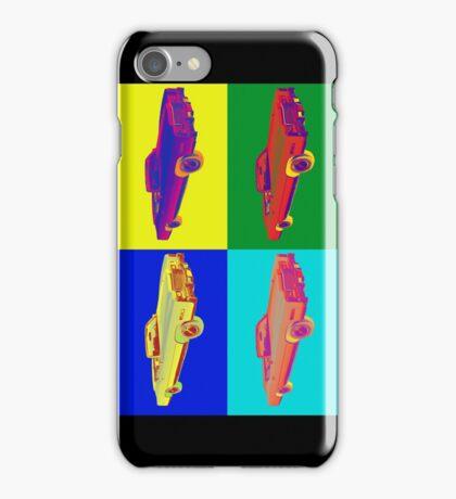 1975 Cadillac El Dorado Convertible Pop Art iPhone Case/Skin