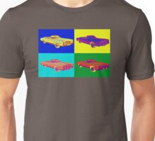 1975 Cadillac El Dorado Convertible Pop Art Unisex T-Shirt
