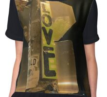 Love in the City Chiffon Top