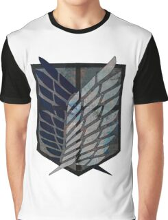 Scouting Legion Attack on Titan Graphic T-Shirt