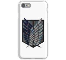 Scouting Legion Attack on Titan iPhone Case/Skin