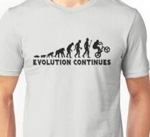 BMX Evolution Continues Unisex T-Shirt
