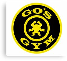 Pokemon Go Gym logo Canvas Print