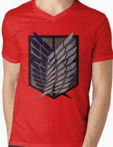 Scouting Legion Attack on Titan Mens V-Neck T-Shirt