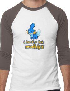 So I heard you like mudkips (I Herd U Liek Mudkipz) Men's Baseball ¾ T-Shirt