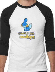 So I heard you like mudkips (I Herd U Liek Mudkipz) Men's Baseball ¾ T-Shirt