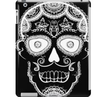 All Hallows Skull - White iPad Case/Skin
