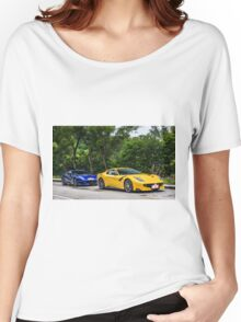 2 Ferrari F12 TDF Women's Relaxed Fit T-Shirt