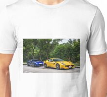 2 Ferrari F12 TDF Unisex T-Shirt